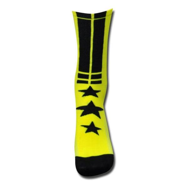 FORTE-Sock-yellow-black—cycling-sock—forte—35-38_alt